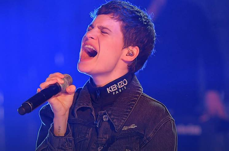 ​Christine and the Queens Mashes Up Rihanna's 'Kiss It Better' with Kate Bush's 'Wuthering Heights'