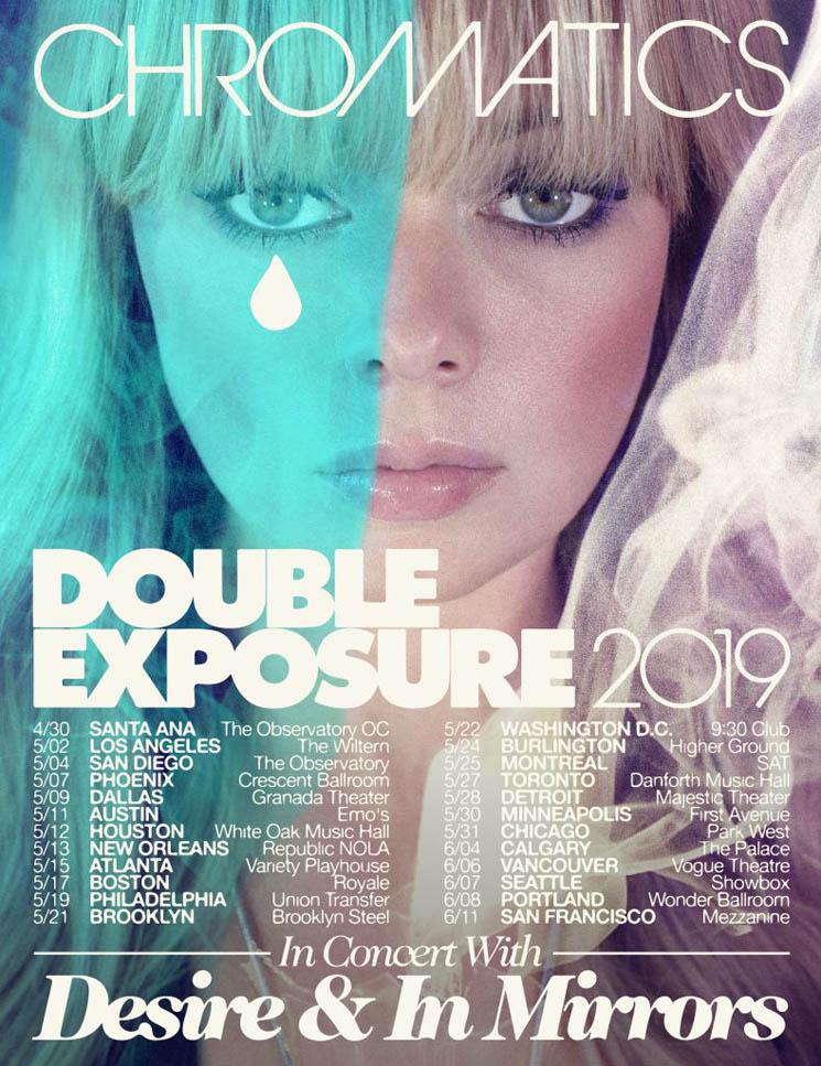 Chromatics Plot North American 'Double Exposure Tour'
