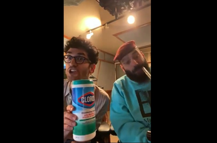Chromeo Share New Coronavirus-Themed Tune 'Clorox Wipe'