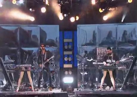 """Chromeo """"Jealous (I Ain't With It)"""" (live on 'Kimmel')"""