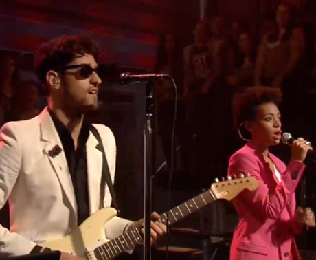 Chromeo 'When the Night Falls' (ft. Solange Knowles) (live on 'Fallon')