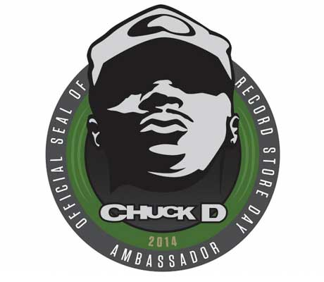 Chuck D Named Record Store Day's 2014 Ambassador
