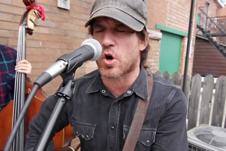 "Chuck Ragan Performs ""You Get What You Give"""