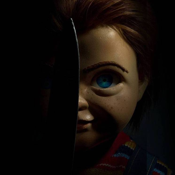 Chucky Kills Woody from 'Toy Story' on the New 'Child's Play' Poster