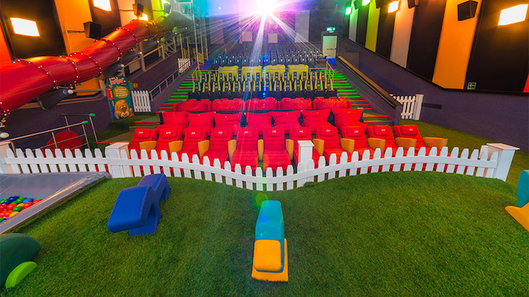 America Is Building Movie Theatres with Playgrounds in Them