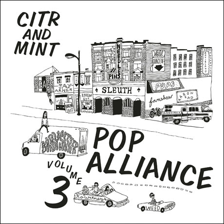 Mint Records and CiTR Team Up for New 'Pop Alliance' Comp Featuring Needles//Pins, Peace, Weed