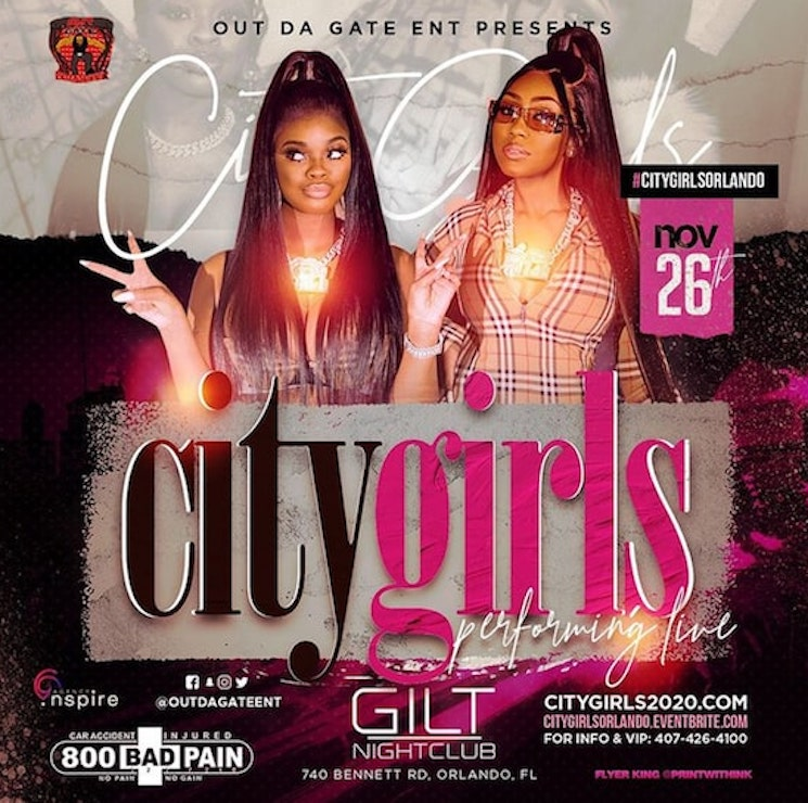 COVID Be Damned, City Girls Performed for a Packed House on Thanksgiving