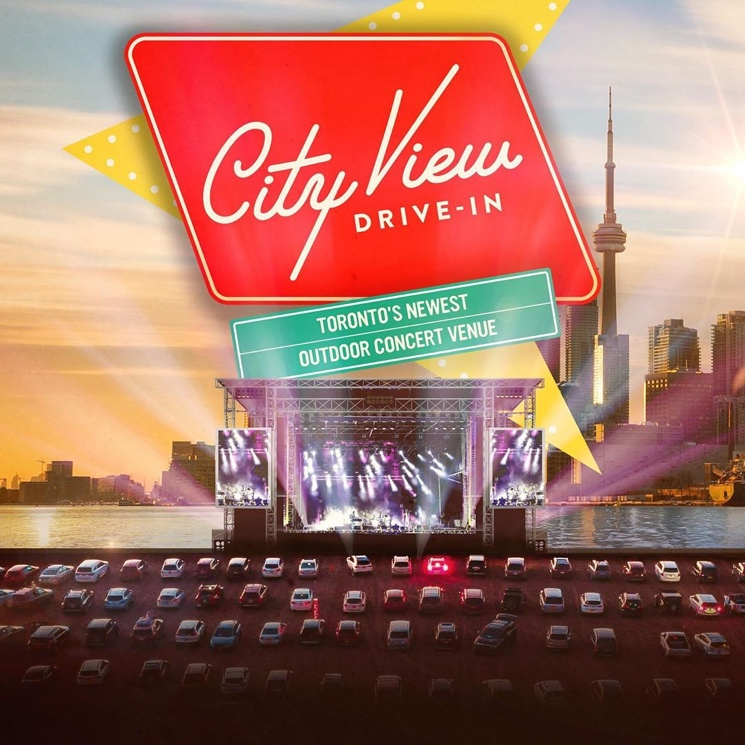 Toronto's New Drive-In Theatre Announces Summer Concerts
