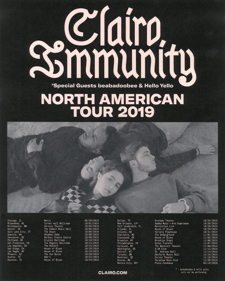 Clairo Announces North American Fall Tour