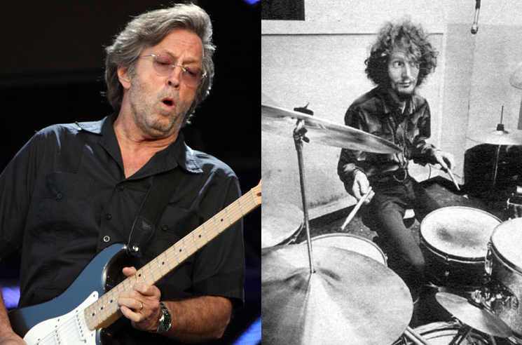 Eric Clapton Announces Ginger Baker Tribute Show