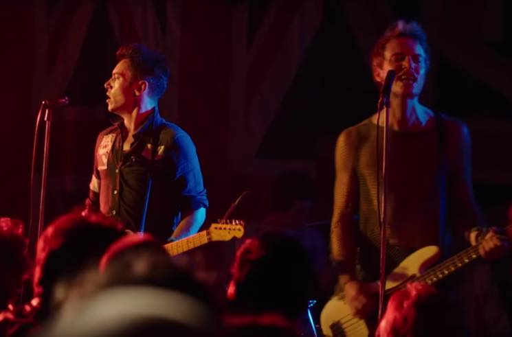 ​Watch Jonathan Rhys Meyers Perform as Joe Strummer in 'London Town'