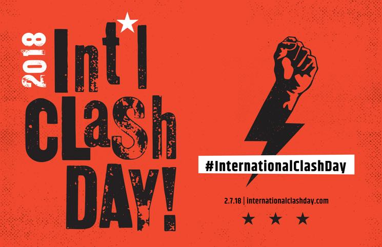 "Mayor John Tory Proclaims ""International Clash Day"" in Toronto"