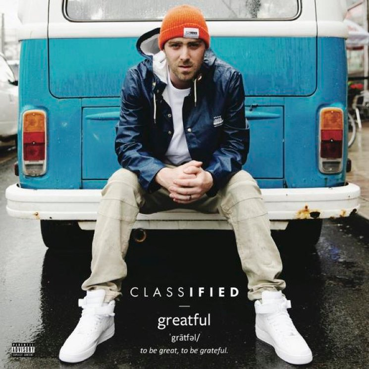 Classified Announces 'Greatful' Album, Plots Canadian Tour