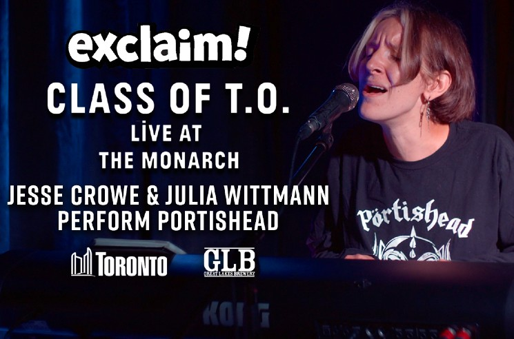 Watch Jesse Crowe and Julia Wittmann Cover Portishead at Toronto's Monarch Tavern