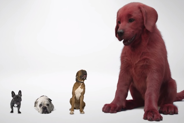 Clifford the Big Red Dog Is the Latest Children's Character to Get a Terrifying Live-Action Movie Adaptation