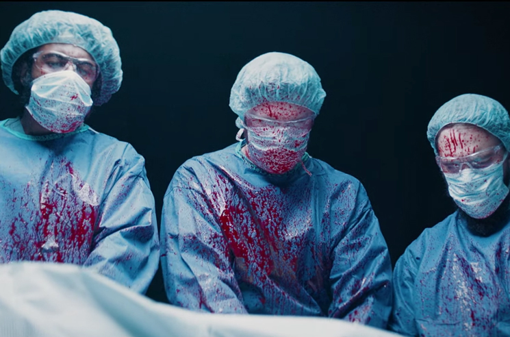 Clipping Perform Lyrical Surgery in Their 'Blood of the Fang' Video