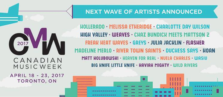 CMW 2017 Gets Hollerado, Charlotte Day Wilson, Weaves, Melissa Etheridge