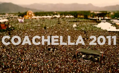 Video Highlights from Coachella 2011 with Death From Above 1979, Arcade Fire, Kanye West