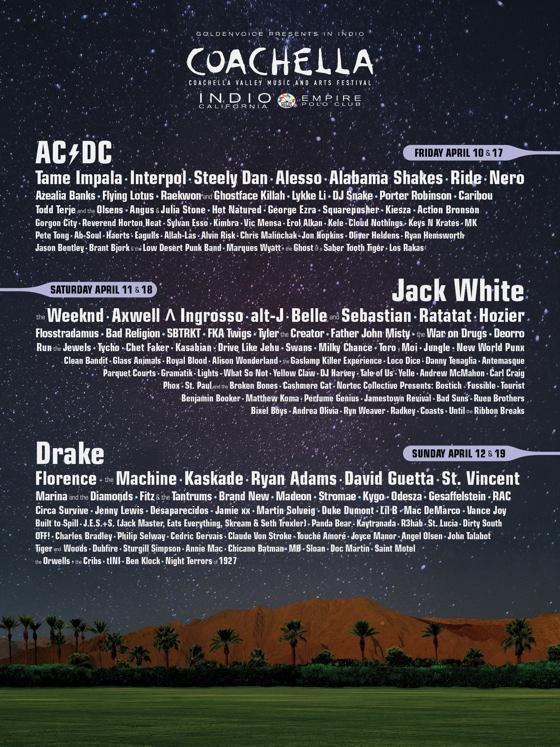 Coachella Unveils 2015 Lineup