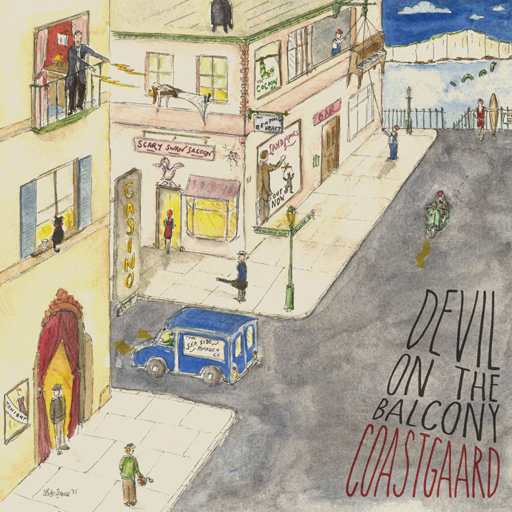 Coastgaard Return with 'Devil on the Balcony' LP, Premiere New Single