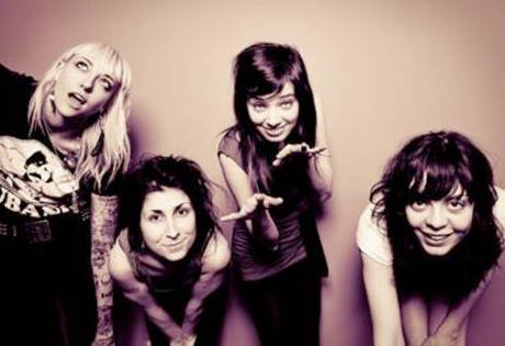 The Coathangers Add Summer North American Dates, Prep Split Single with Heavy Cream