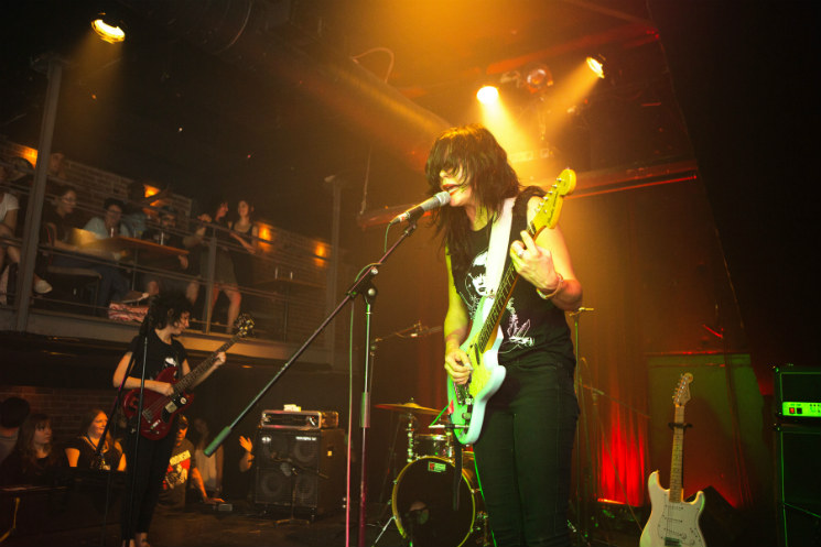 The Coathangers Le Cercle, Quebec City QC, July 10