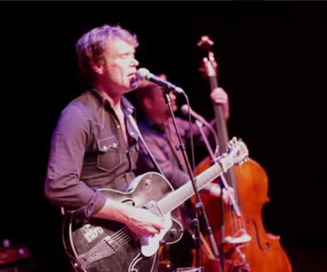 """Corb Lund """"Bible on the Dash"""" (live on Chalk TV)"""