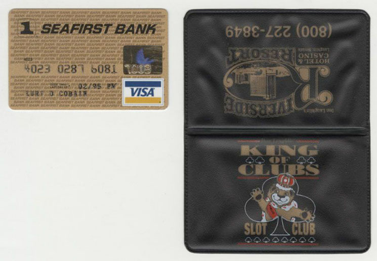 Want to Buy Kurt Cobain's Credit Card? Now You Can