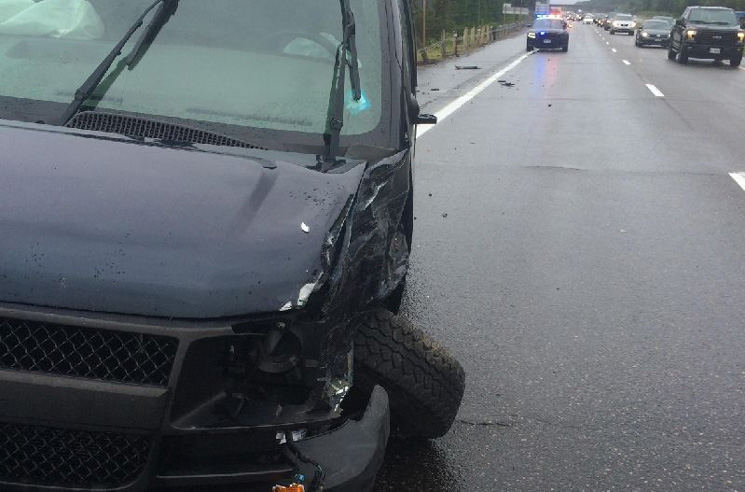 Sam Coffey and the Iron Lungs' Tour Van Got Totalled by a Reckless Driver