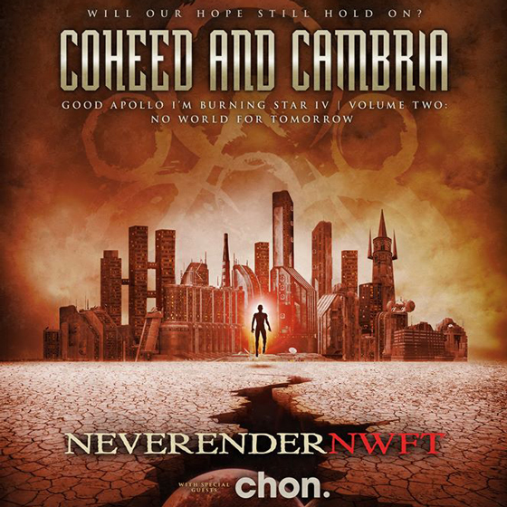 Coheed and Cambria Bring 'No World for Tomorrow' to Canada on Tour