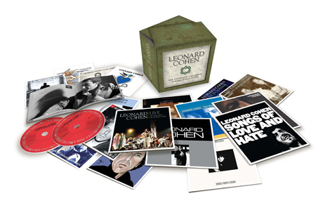 Leonard Cohen Compiles 'The Complete Albums Collection'