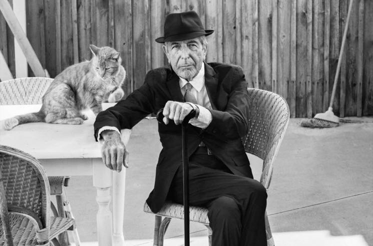 Leonard Cohen Gets Commemorative Canada Post Stamps