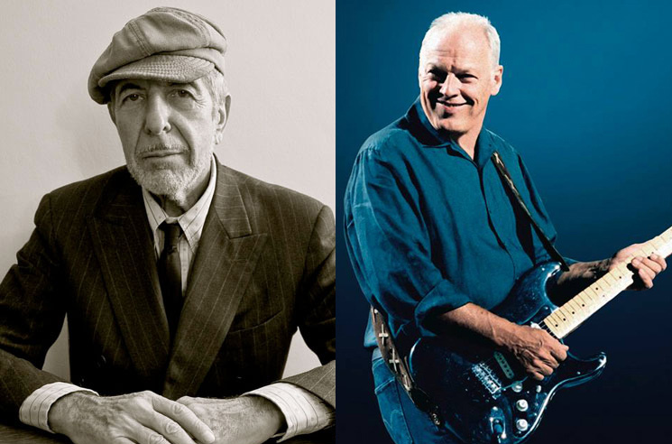 "David Gilmour Covers Leonard Cohen Deep Cut ""Fingerprints"""