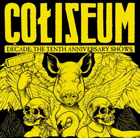 Coliseum Announce 10th Anniversary Tour