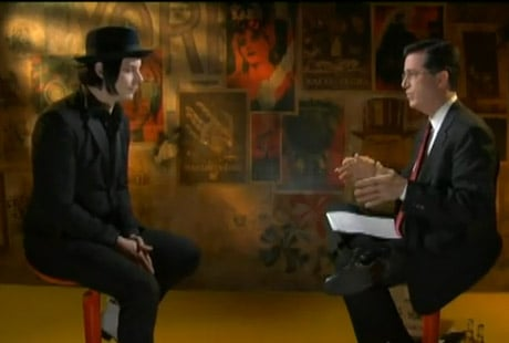 Jack White 'Stephen Colbert Presents, 2011: A Rock Odyssey with Jack White' (video)