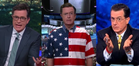 Stephen Colbert Threatened with Legal Action for Being 'Stephen Colbert,' Introduces Third Stephen Colbert
