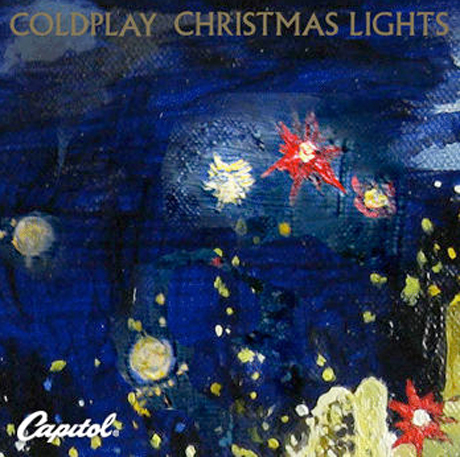 "Coldplay ""Christmas Lights"""