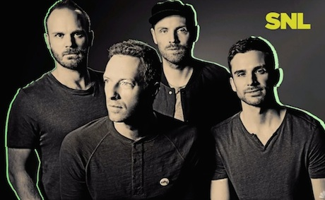 Coldplay 'Magic' / 'A Sky Full of Stars' (live on 'SNL')