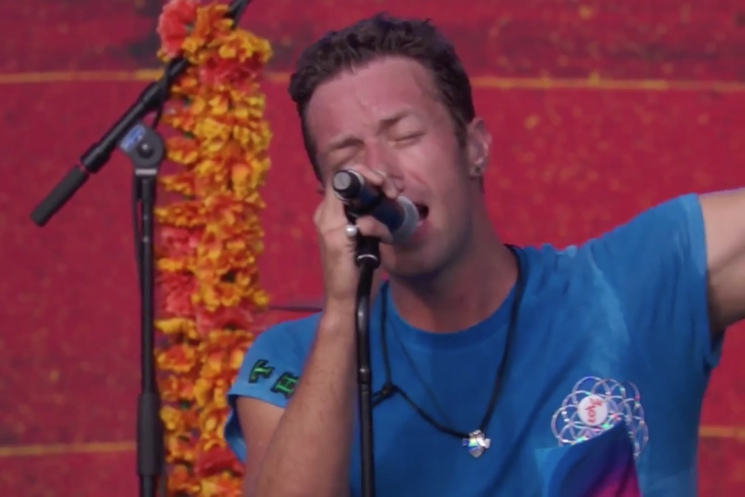 Coldplay 'Amazing Day' (live video)