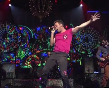 Coldplay Live on 'SNL'