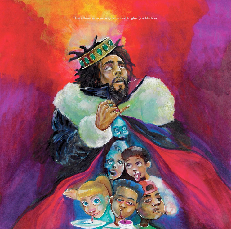 J. Cole Shares 'KOD' Album Artwork, Tracklist