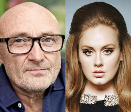 "Phil Collins Calls Adele ""Slippery"" Following Rejected Collaboration"
