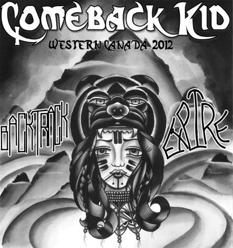 Comeback Kid Line Up Western Canada Tour