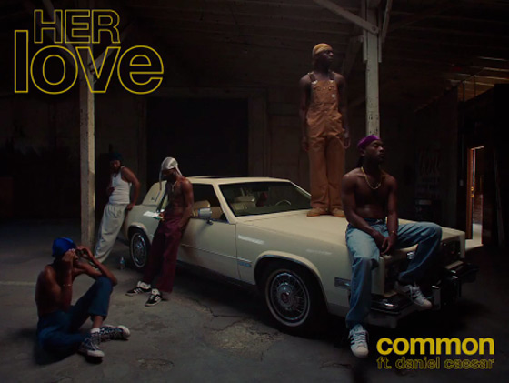 "Common Connects with Daniel Caesar and J Dilla for ""HER Love"""