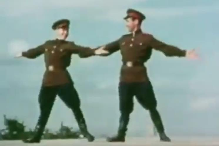 ​These Clips of Soviet Soldiers Dancing to the Strokes, the Smiths and Outkast Will Make Your Day