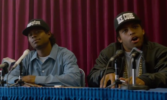 N.W.A. 'Straight Outta Compton' (theatrical trailer)