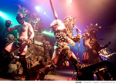 Gwar The Palace, Halifax NS October 20