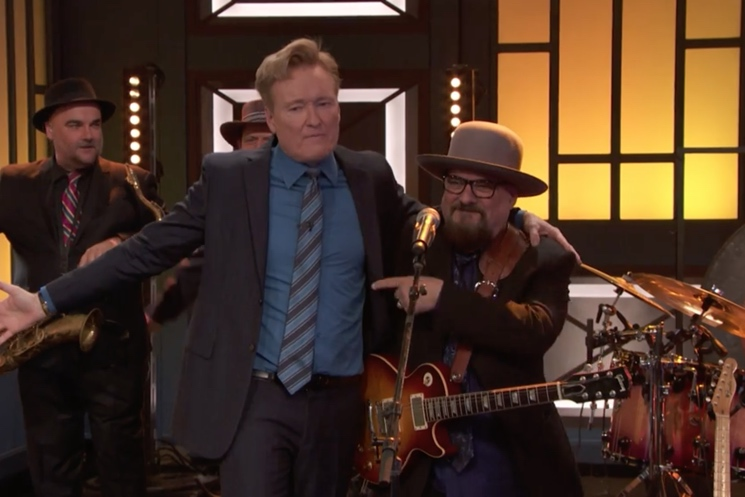 Conan O'Brien Bids Tearful Goodbye to His House Band