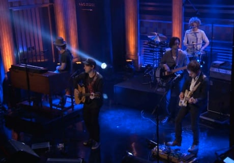 "Conor Oberst ""Zigzagging Toward the Light"" (live on 'Fallon')"