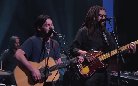 """Conor Oberst """"Zigzagging Towards the Light"""" (live on 'Kimmel')"""